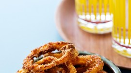 Onion Rings Wallpaper For IPhone Free