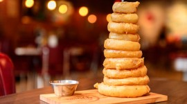 Onion Rings Wallpaper Full HD