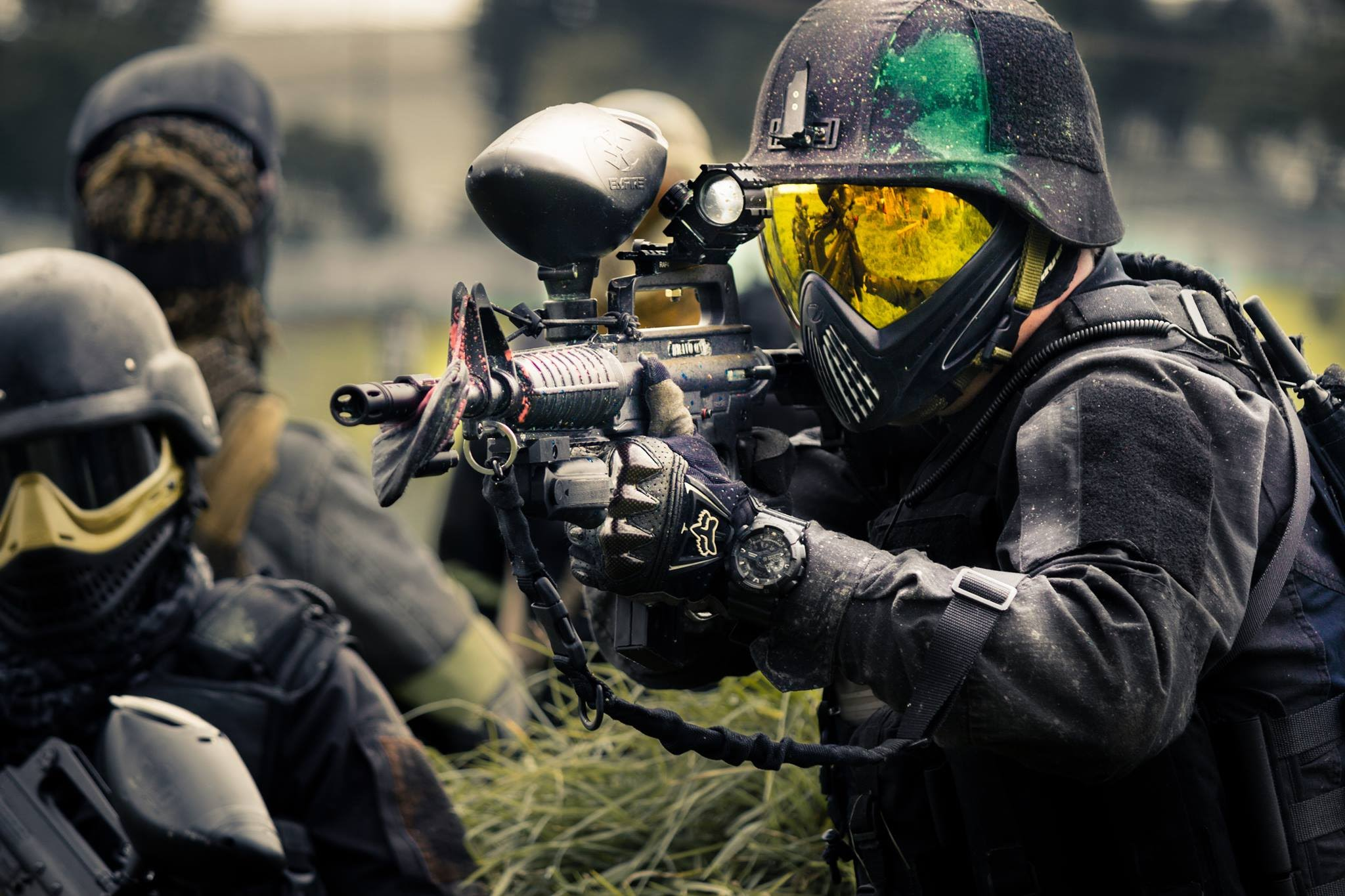 the steps involved in learning the art of paintball Learn more about this your interpretation of this work will depend on the clues you have collected during the first two steps of art criticism-description and.