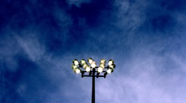 Spotlights At The Stadium Wallpaper Gallery