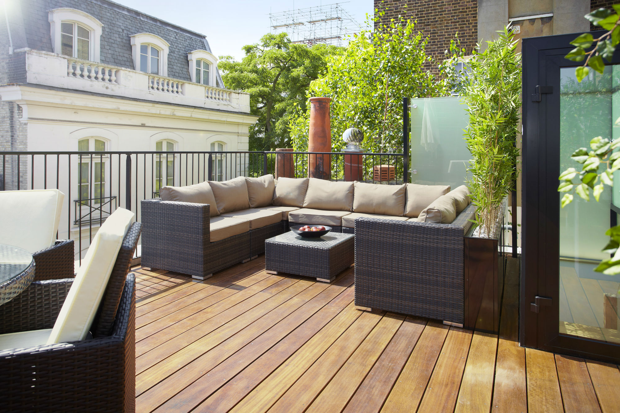 Terrace wallpapers high quality download free for Roof terrace definition