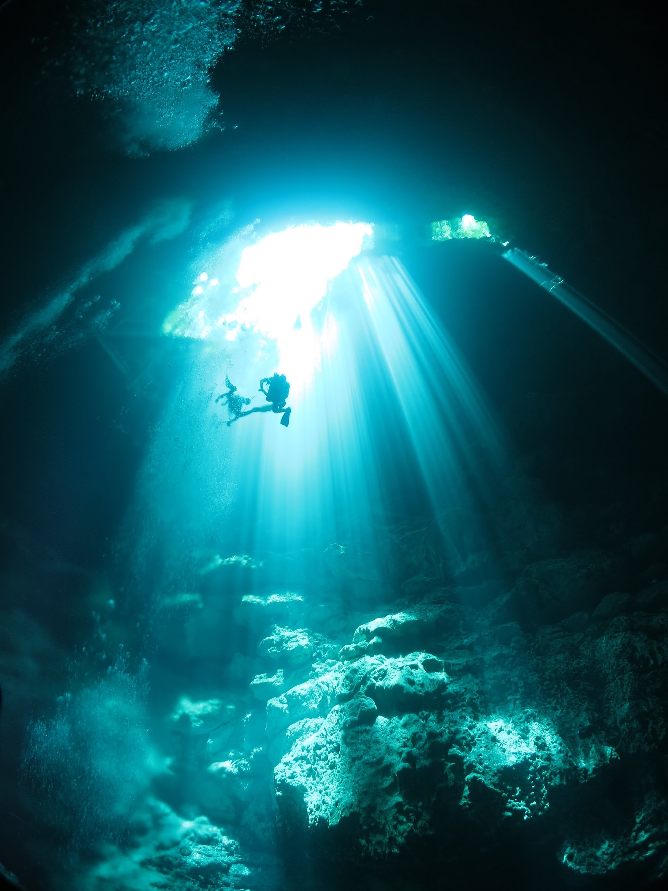 Underwater Caves Wallpapers High Quality | Download Free
