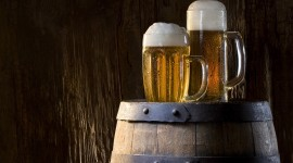4K Beer Mugs Wallpaper For PC