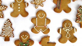 4K Gingerbread Wallpaper For Desktop