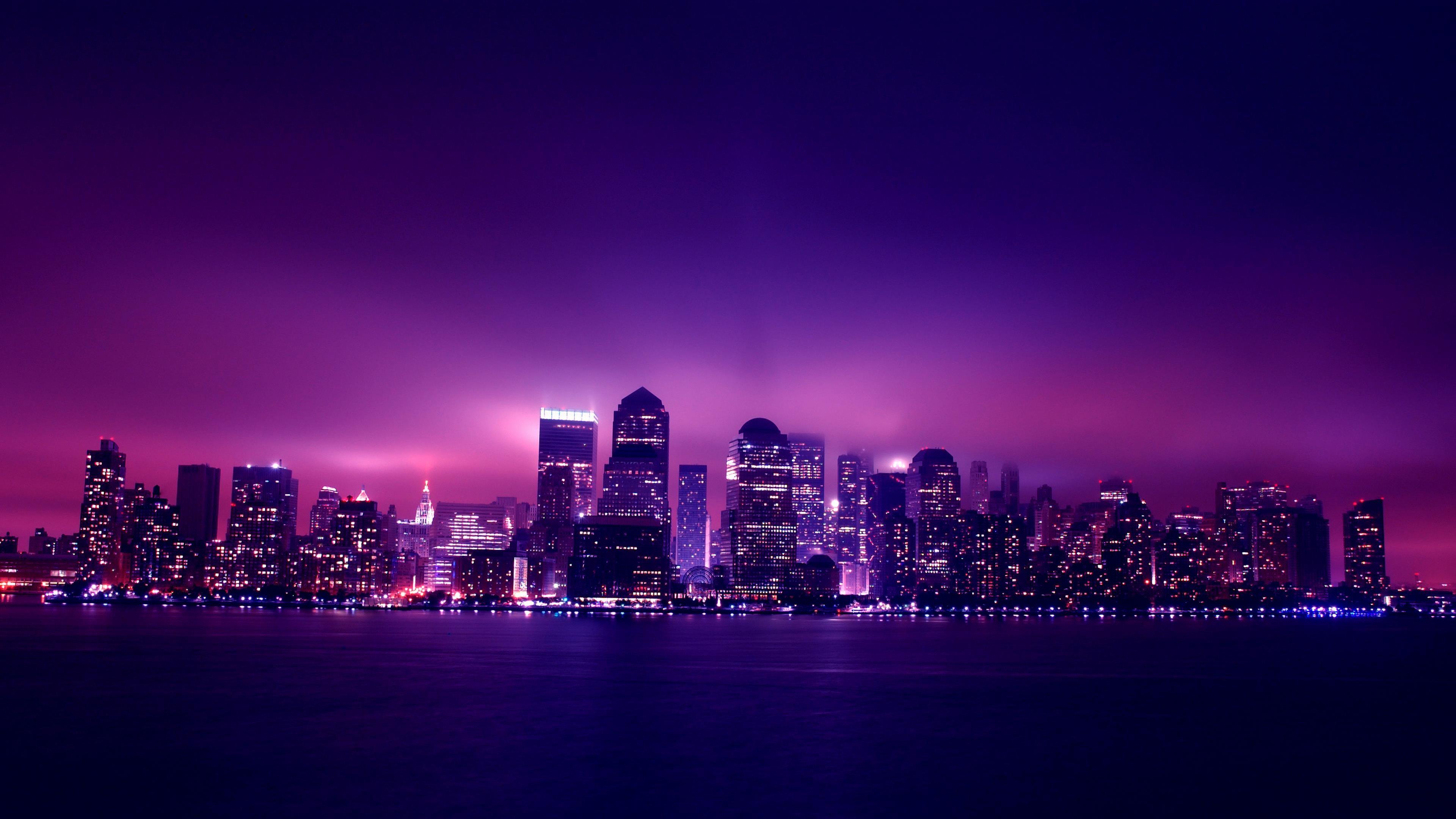 4k purple wallpapers high quality download free for Sfondi hd viola