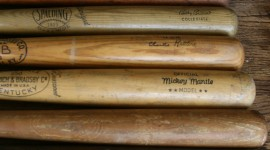 Baseball Bat High Quality Wallpaper