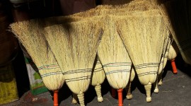 Brooms Wallpaper Download Free