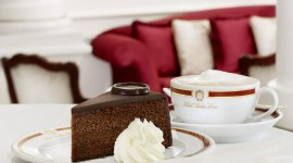 Cake Sacher Wallpaper