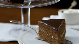 Cake Sacher Wallpaper For IPhone