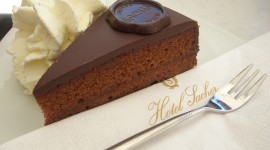Cake Sacher Wallpaper For PC