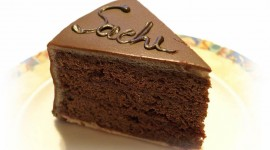 Cake Sacher Wallpaper Full HD
