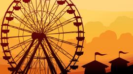 Ferris Wheel Wallpaper Download Free
