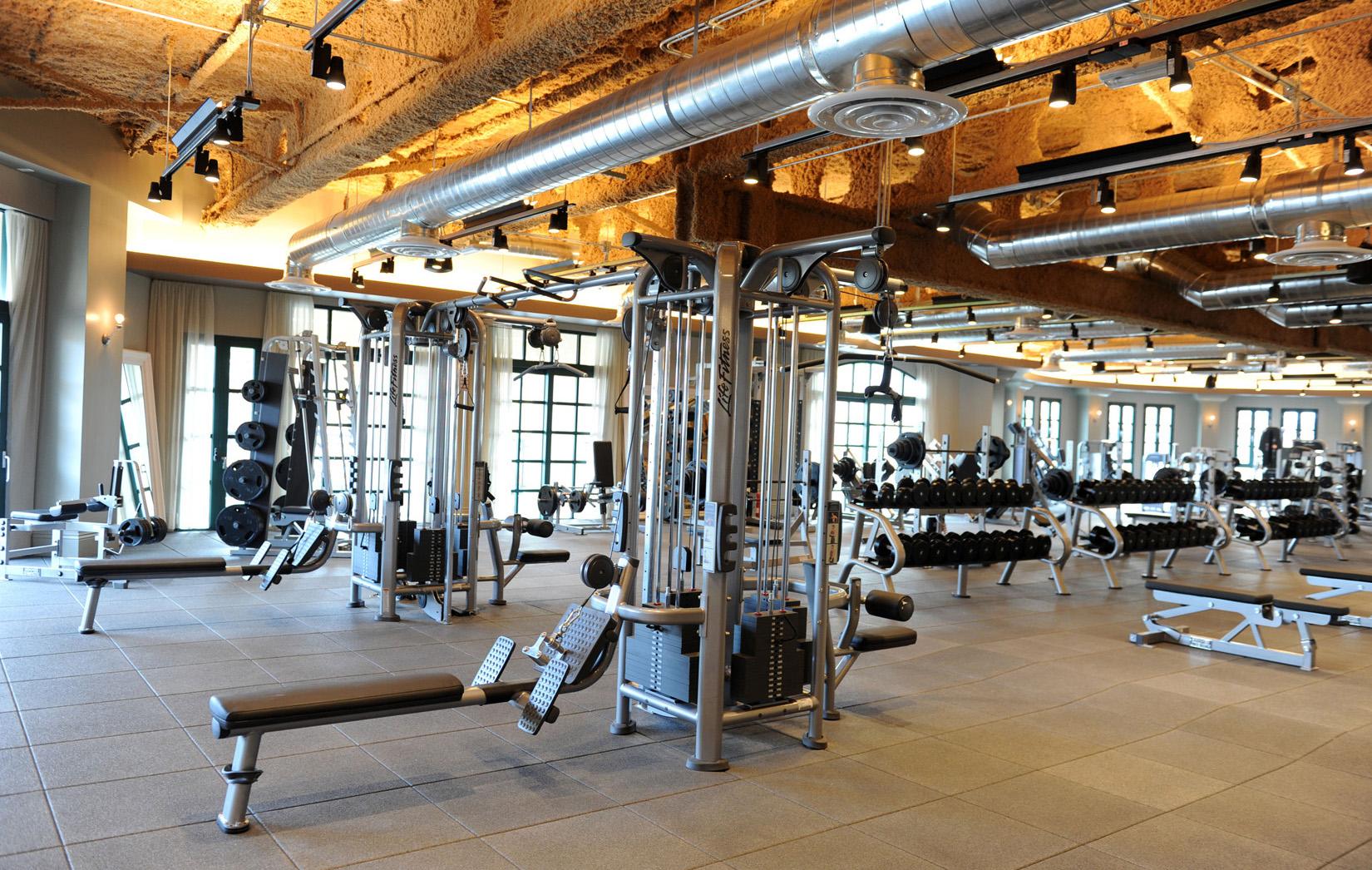 Wallpaper Sport Interior Design: Gym Wallpapers High Quality