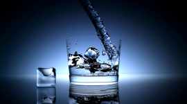 Ice-Glass Wallpaper For PC