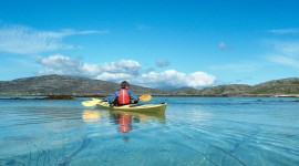 Kayaking High Quality Wallpaper