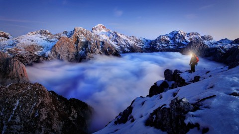 Mountaineering wallpapers high quality