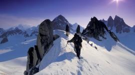 Mountaineering Wallpaper