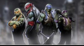 Ninja Turtles Wallpaper For PC