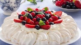 Pavlova Cake Wallpaper For Desktop