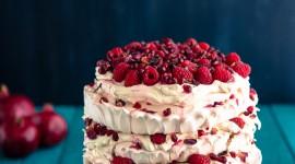Pavlova Cake Wallpaper For IPhone