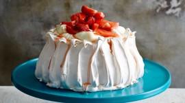 Pavlova Cake Wallpaper For Mobile