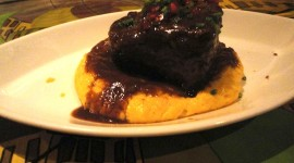 Polenta and Braised Beef Photo Free#1