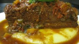 Polenta and Braised Beef Photo#1