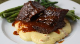 Polenta and Braised Beef Wallpaper For PC