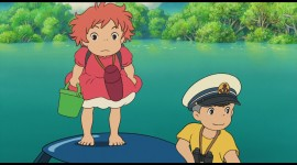 Ponyo Desktop Wallpaper For PC