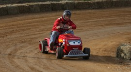 Racing On Lawn Mowers Wallpaper For Desktop