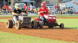 Racing On Lawn Mowers Wallpaper Gallery