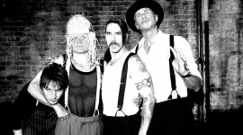 Red Hot Chili Peppers Desktop Wallpaper