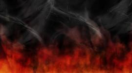 Red Smoke Wallpaper For Desktop