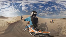 Sand Dune Riding Wallpaper For PC