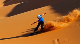 Sand Dune Riding Wallpaper HD