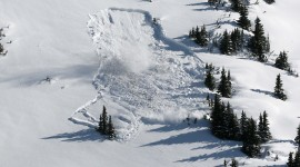 Snow Avalanche Wallpaper Free