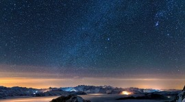 Starry Sky Desktop Wallpaper Free