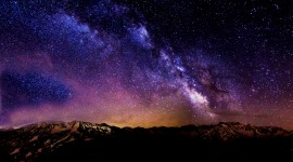 Starry Sky Wallpaper For PC