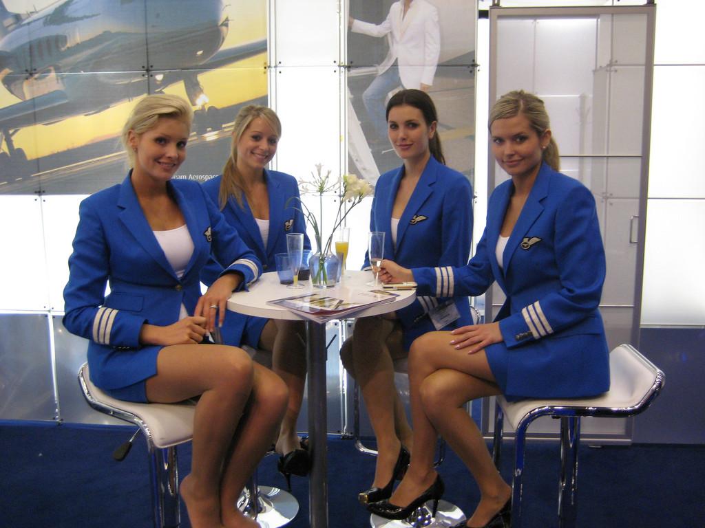 Девушки стюардессы