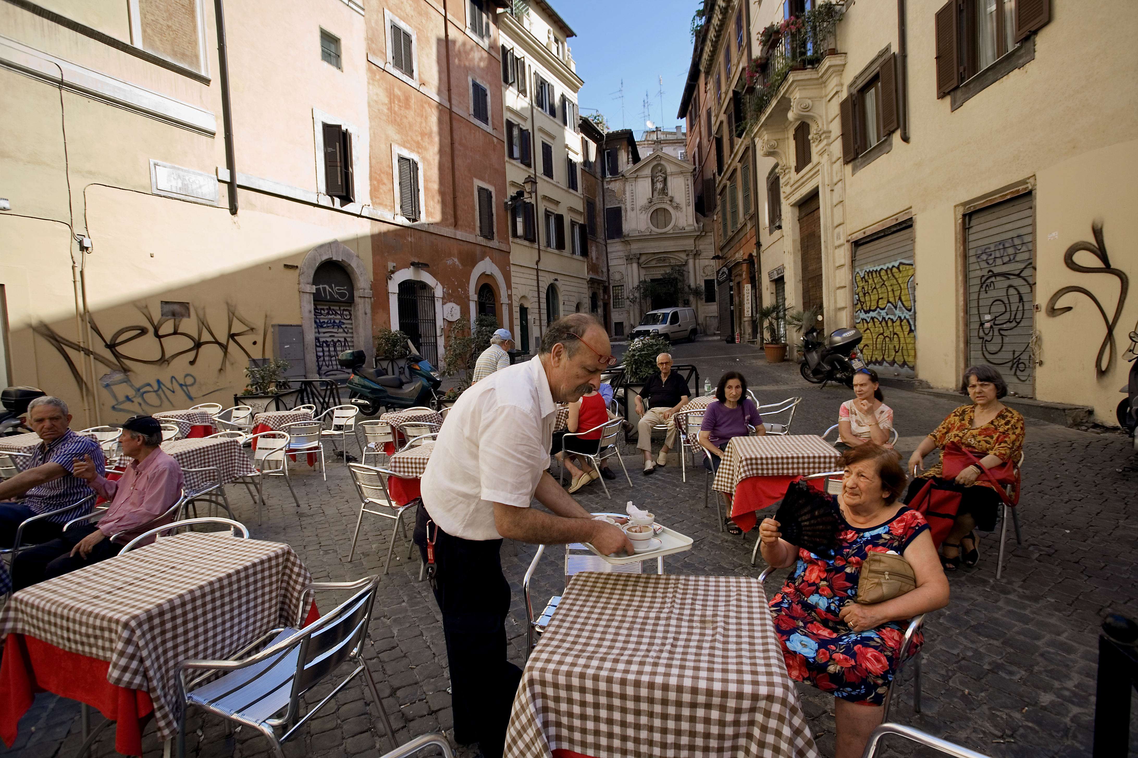 Street Cafe Wallpapers High Quality Download Free