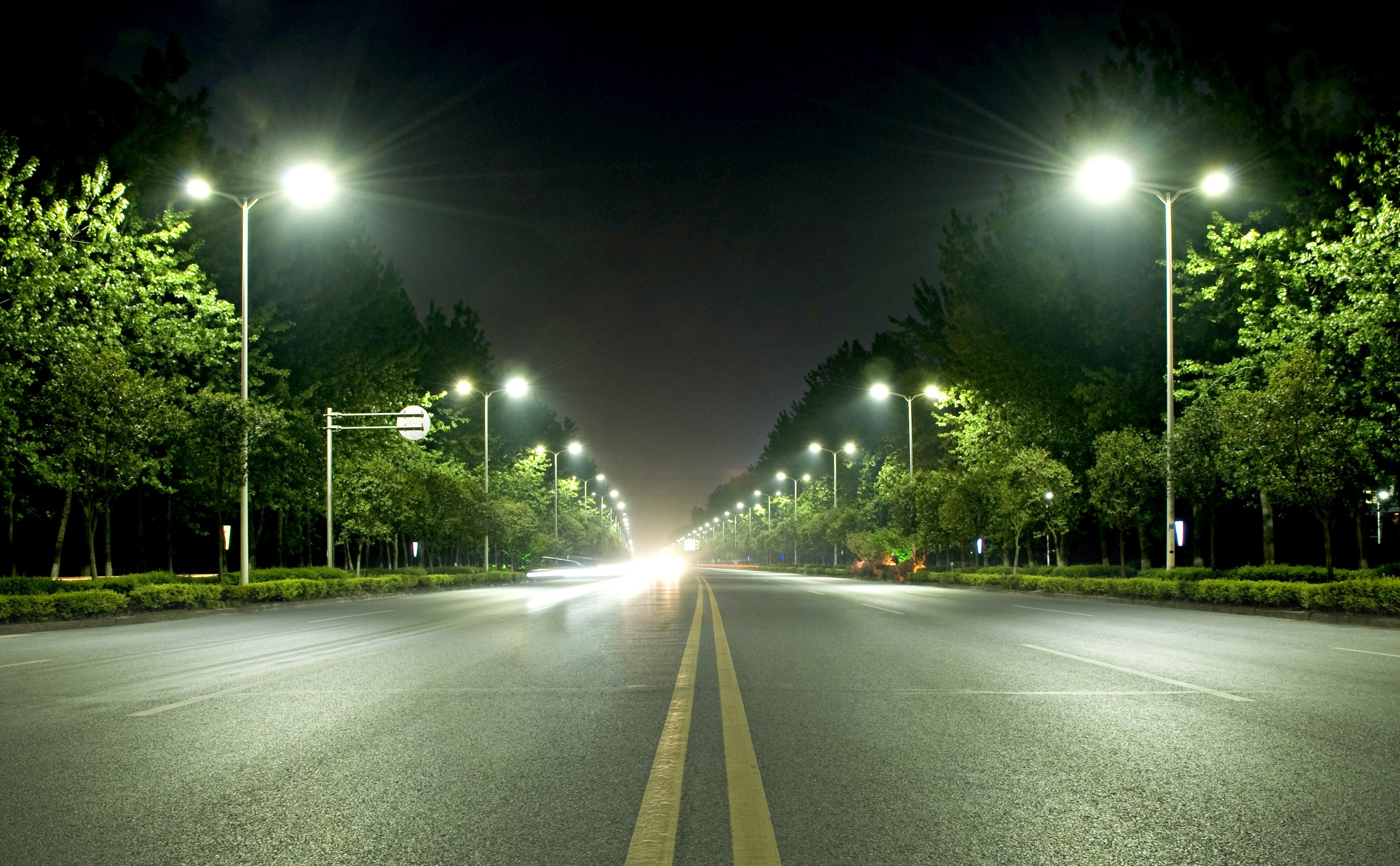 Street Lights Wallpapers High Quality