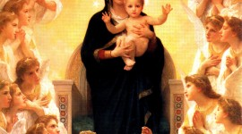 Virgin Maria Desktop Wallpaper HD