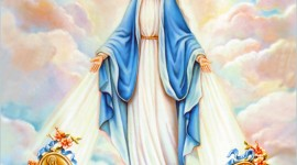 Virgin Maria Wallpaper For PC