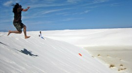White Sands Wallpaper