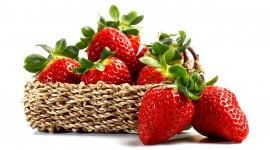 4K A Basket Of Strawberries Photo#2