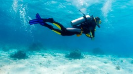 4K Divers Desktop Wallpaper For PC