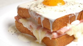 4K Fried Eggs Photo Download
