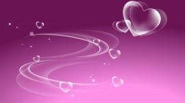 4K Little Hearts Desktop Wallpaper For PC
