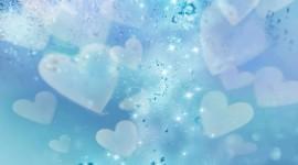 4K Little Hearts Desktop Wallpaper HD
