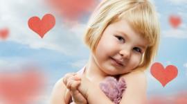 4K Little Hearts Photo Free